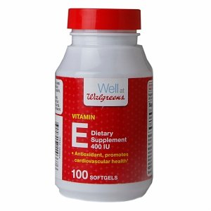 Walgreens Vitamin E 400 IU Dietary Supplement Softgels 100 e