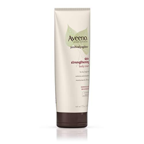31rpNu7Ub0L - Aveeno Positively Ageless Skin Strengthening Body Cream, Moisturizes For 24 Hours 7.3 Oz