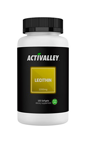 Activalley Lecithin 1200 | 100 Softgels | Essential Fatty Acid for Men and Women! Review
