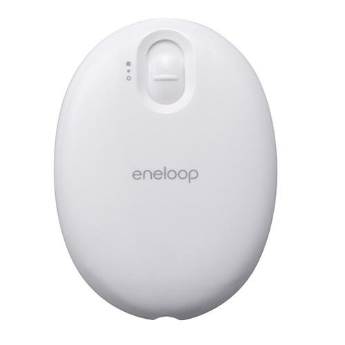 Sanyo Eneloop Kairo Rechargeable Portable Electric Hand Warmer White