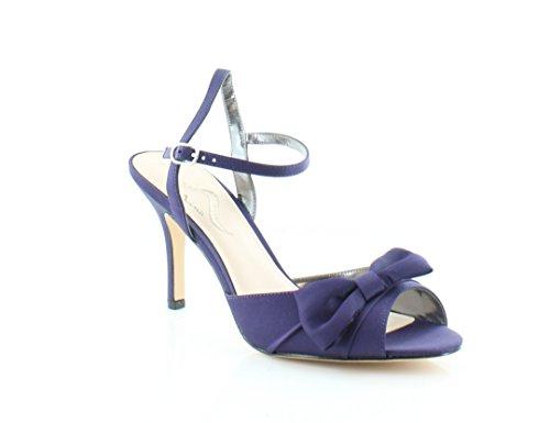 Grape Luster Satin (Nina Vashti Women's Heels Grape Luster Size 11 M)