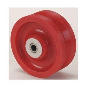 Industrial Grade 1NWG2 Caster Wheel, V Groove, 4 In, 350 Lb