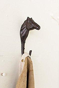 Cast Iron Horse Wall Hook