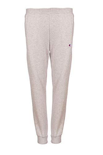 (Champion Boys Heritage Brushed Fleece Jogger Sweatpant (Medium, Heather Grey))