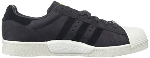 Adidas Originals Mens Superstar Utilità Nero / Nero / Bianco