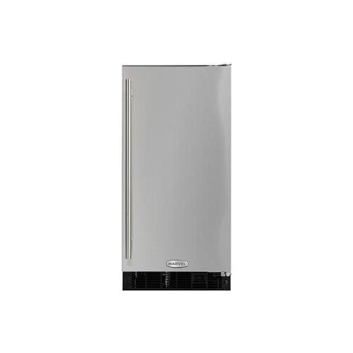 Toe Kick Left Hinge - Marvel MA15CRS1RS ADA Ice Machine with Right Hinge Door, 15-Inch, Stainless Steel