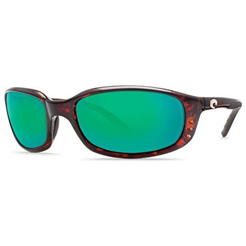 ba0054f4905 Costa Del Mar Brine Polarized Iridium Oval Sunglasses Tortoise 58.8 mm