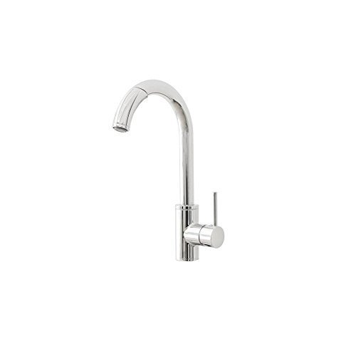Belle Chrome Faucet (Belle Foret CR-WHLX78591 Single-Handle Pull-Out Sprayer Kitchen Faucet in Chrome by Belle Foret)