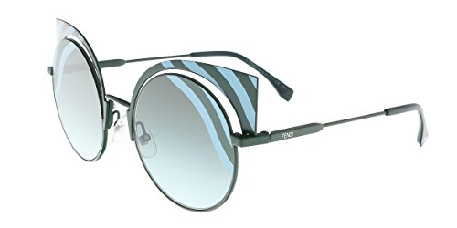 Fendi FF0215S-00KC Matte Blue Green-53mm