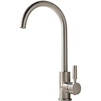 Comllen Best Commercial Brushed Nickel Stainless Steel Single Handle - Cheap kitchen sink faucets