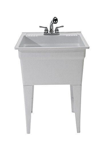 CASHEL 1960-32-02 Heavy Duty Sink - Fully Loaded Sink Kit, Granite by Cashel (Image #3)