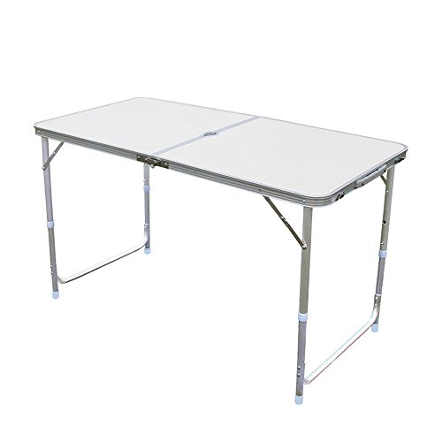 Z ZTDM Height Adjustable Folding Utility Table, Portable Mul