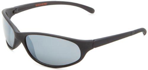 Dockers Men's S03273ldm009 Wrap Sunglasses,Black,53 - Dockers Sunglasses Black