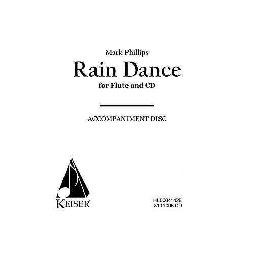 Rain Dance (CD Accompaniment) LKM Music Series Composed by Mark Phillips- Pack of 2