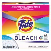 Procter & Gamble 608-84998 Tide Ultra Powder with Bleach, Original Scent, 144 fl. oz. (Pack of 2)