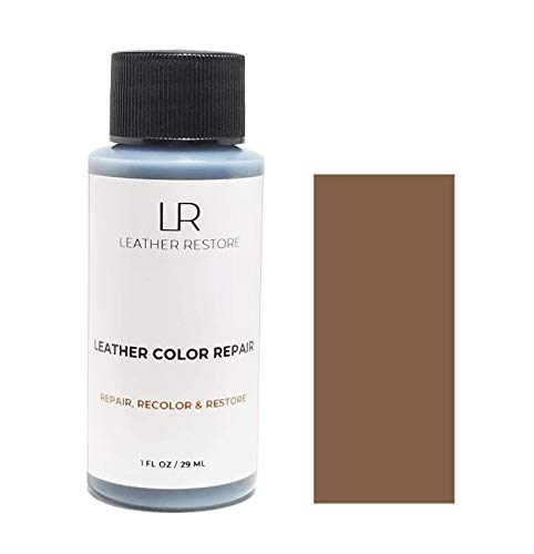 Leather Restore Leather Color Repair, Chocolate, 1 OZ Bottle - Repair, Recolor & Restore Couch, Furniture, Auto Interior, Car Seats, Vinyl & - Leather Choc