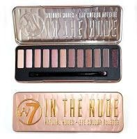 W7 Makeup Make Up Eye Shadow Palette Naked Nude Natural Colours - In The Nude
