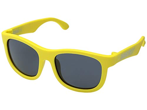 Babiators Original Navigator Sunglasses (Junior (0-2), Bright Yellow)