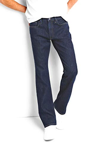 (GAP Mens Jeans, 1969, Rinse Dark Wash in Boot Fit, Non-Stretch)