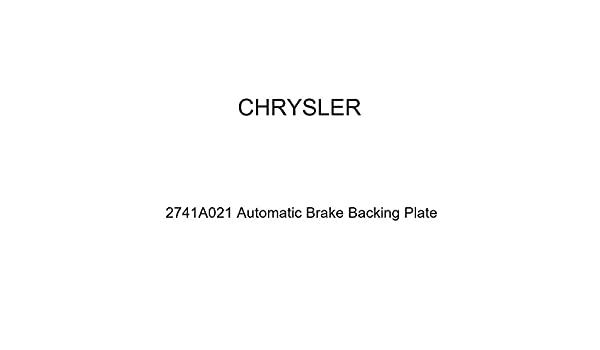 Genuine Chrysler 2741A021 Automatic Brake Backing Plate