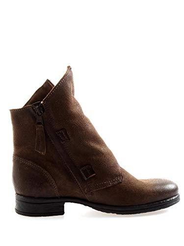 Bottine 8251 Cuir Motard Femmes Isabelle Moro Bottes De En Chaussures PawxEnqTdz