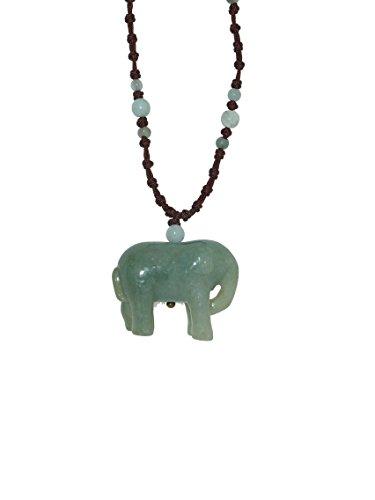 Elephant Handmade Jade Necklace
