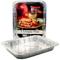 Foil Lasagna Pan Sold in packs of 15