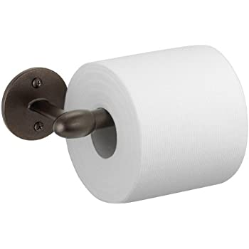 interdesign orbinni toilet paper holder for bathroom wall mount bronze - Wall Mount Toilet