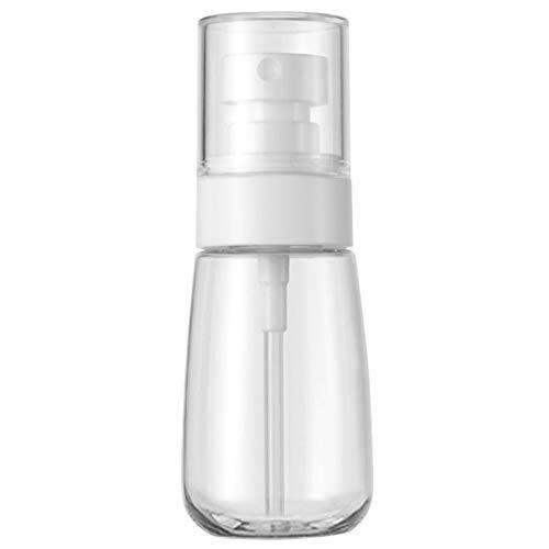 HaloVa Spray Bottle, PETG Materials Plastic Bottle, Leakproof Dustproof Small Fine Mist Bottle for Cleaning Travel Essential Oils Perfume Makeup Remover, 3.5 Ounces