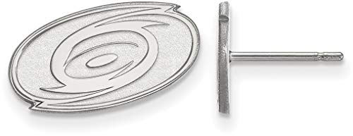- Sterling Silver NHL Carolina Hurricanes X-Small Post Earrings by LogoArt