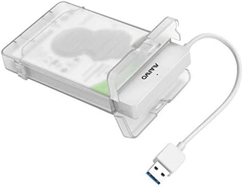 Domybest - Caja de Disco Duro Externo de 2,5 Pulgadas, USB 3.0 ...