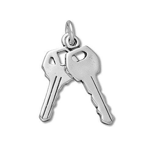 Sold House Charm - Sterling Silver Set of House Keys Item #42068