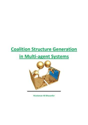 Coalition Structure Generation Algorithms