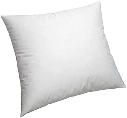 Pikolin Home - Cojín/Cuadrante, de fibra con funda 100% algodón, antiácaros, firmeza media, 60x60cm, Altura 16cm (Todas las medidas)
