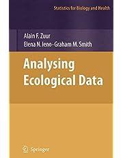 Analyzing Ecological Data