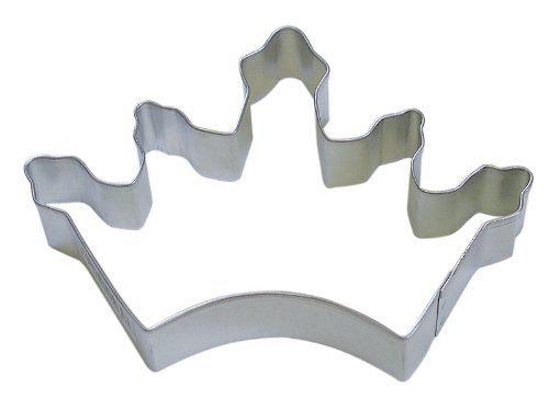 RM Crown Cookie Cutter for Princess Party Favors / Cake Scrapbook Stencils