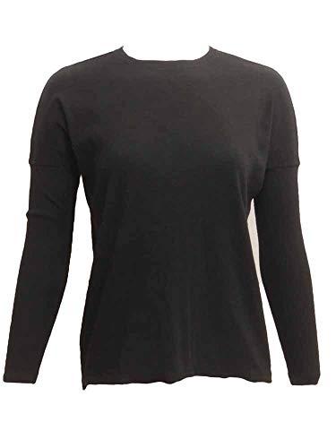 Hard Tail Womens Ribbed Long Sleeve Float Hem Crewneck Shirt, Style CS-125