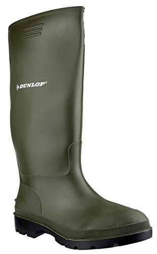 Dunlop Pricemastor PVC Welly/Mens Wellington Boots (11 US) (Green)