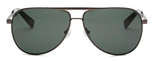 OTIS Eyewear Double Lucky : Gun Metal/Grey Polarized Unisex - Eyewear Lucky