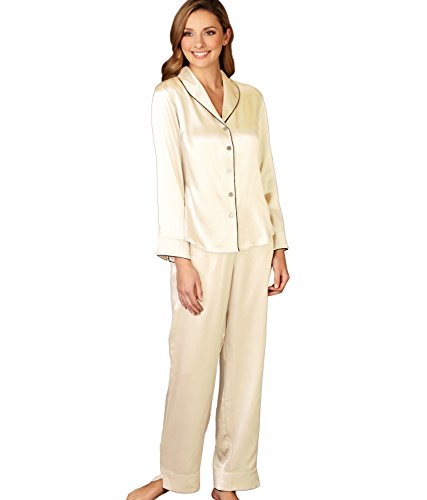 2eaa41eeb6 Galleon - Julianna Rae Natalya Women s 100% Silk Pajamas