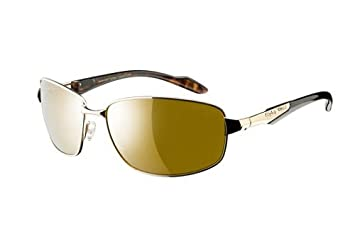 52f8b28bd570e Image Unavailable. Image not available for. Color  Eagle Eyes Endeavor Polarized  Sunglasses (Gold ...
