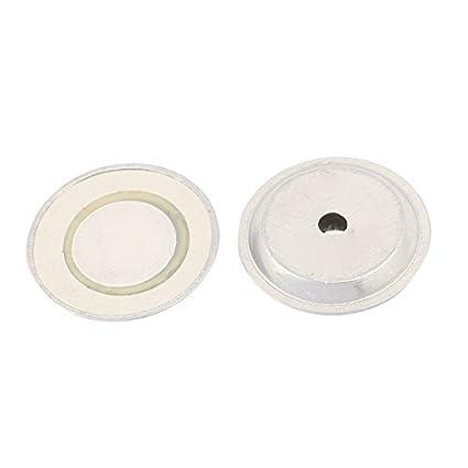Amazon.com: eDealMax 2pcs 27mm Dia cerámica piezoeléctrica ...