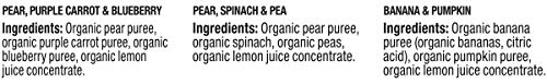 31rpuMPD4mL - Plum Organics Stage 2, Organic Baby Food, Fruit And Veggie Variety Pack, 4 Ounce Pouches (Pack Of 18)
