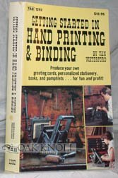 Getting Started in Hand Printing and