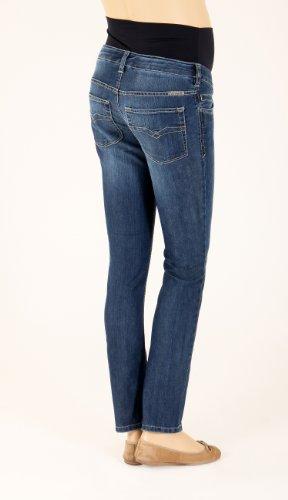Blu blue blau Christoff Premaman Pantaloni Donna twqYXR4