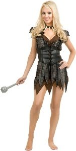 Barbarian Babe Adult Costume Size Small