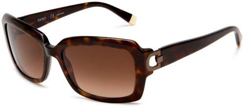 DKNY Women's 0DY4073 Sunglasses,Dark Tortoise Frame/Gradient Lens,55 - Lens Dkny