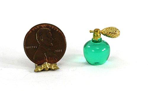 Dollhouse Miniature 1:12 Scale Vintage Look Spray Atomizer Bottle of Perfume