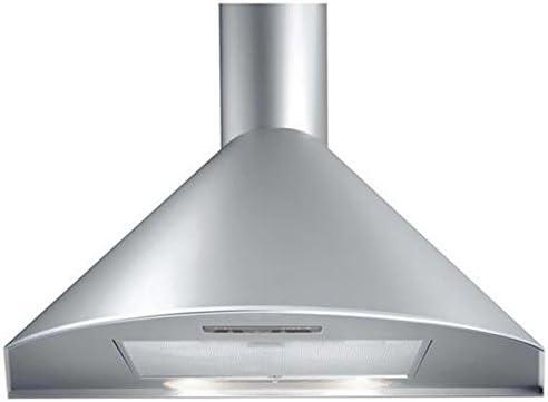 HBH – Campana extractora de cocina (acero inoxidable, 90 cm 520 M3/H D Air Chimenea extensible pared: Amazon.es: Hogar