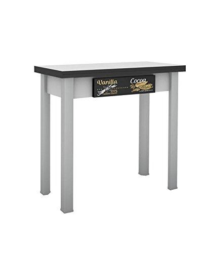 Hogar Decora Mesa Cocina Extensible Madera 40 X 80 X 75 cm: Amazon ...